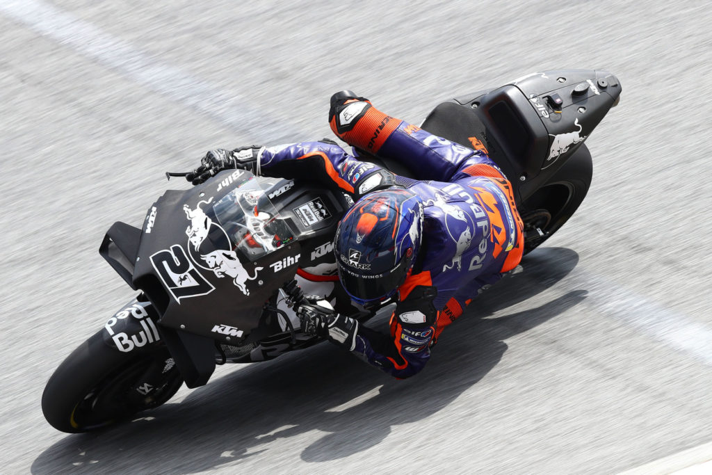 Iker Lecuona (27). Photo courtesy of Red Bull KTM Tech3.