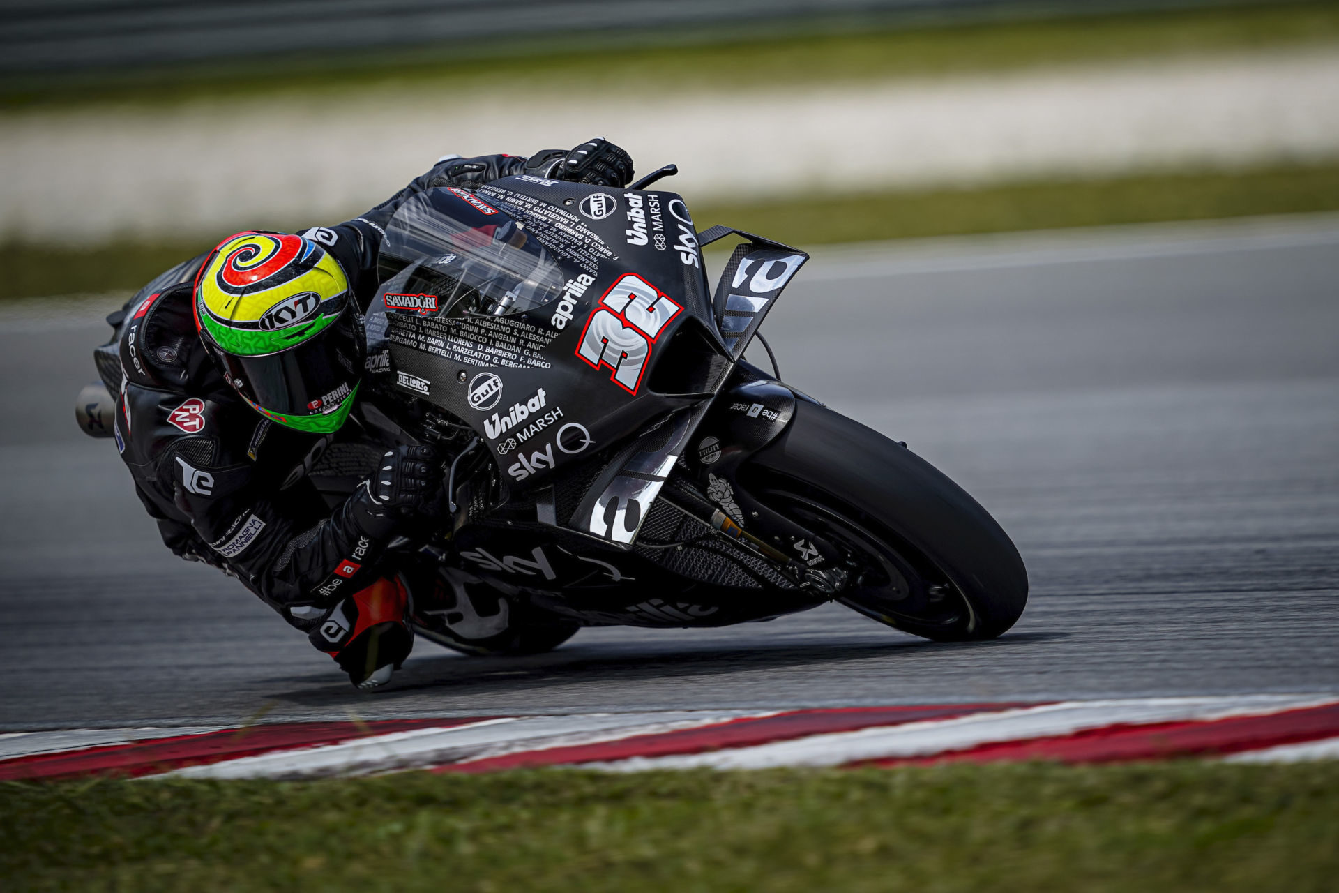 Lorenzo Savadori (32). Photo courtesy of Aprilia.