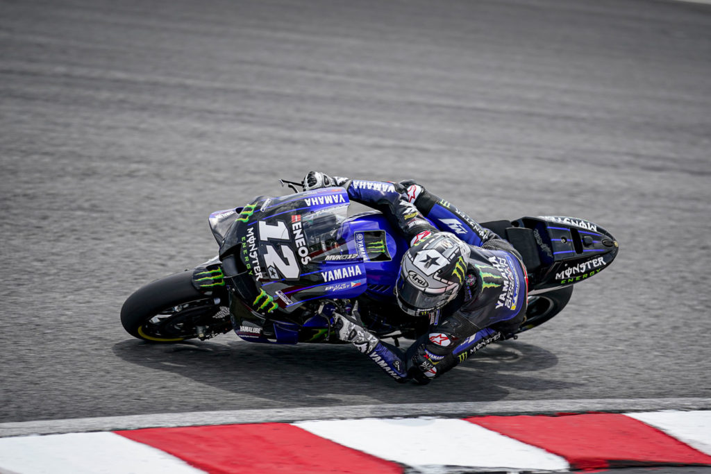 Maverick Vinales (12). Photo courtesy of Monster Energy Yamaha.
