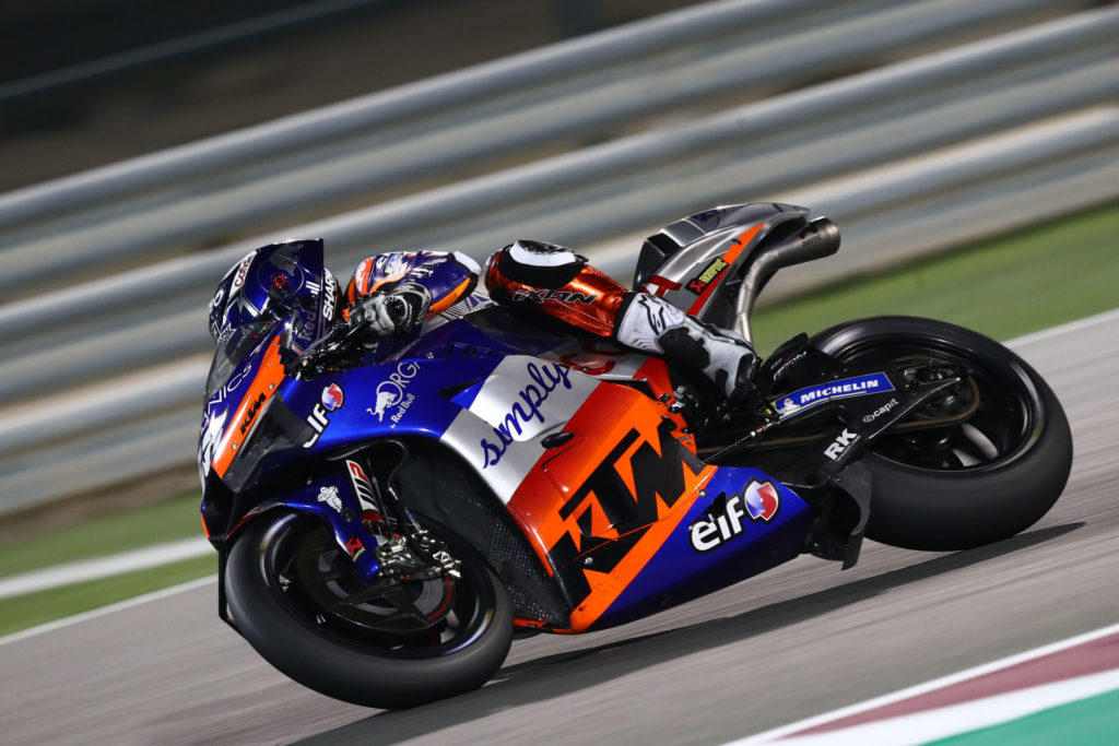 Miguel Oliveira (88). Photo courtesy of Red Bull KTM Tech3.