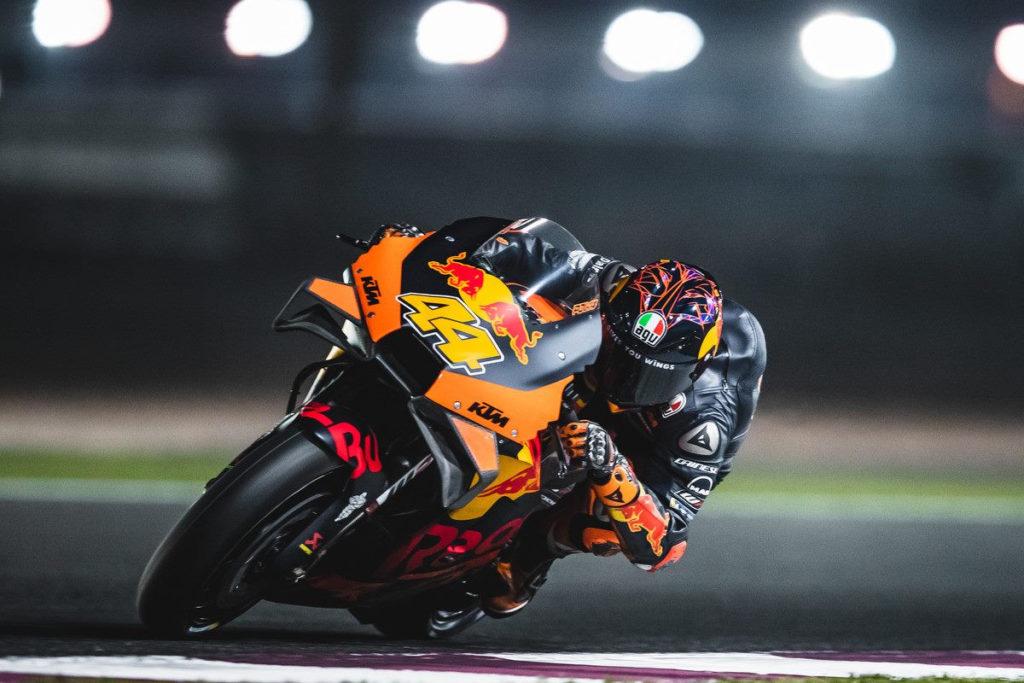 Pol Espargaro (44). Photo courtesy of Red Bull KTM.