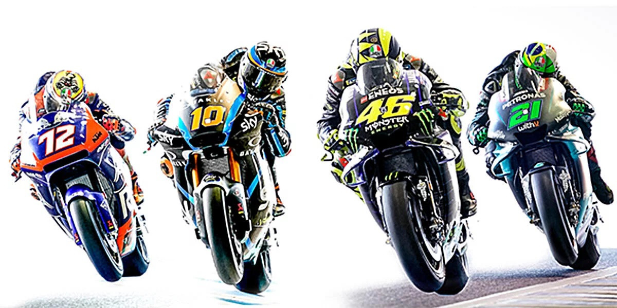 Motogp Your Chance To Be Coached By Rossi Morbidelli Roadracing World Magazine Motorcycle Riding Racing Tech News