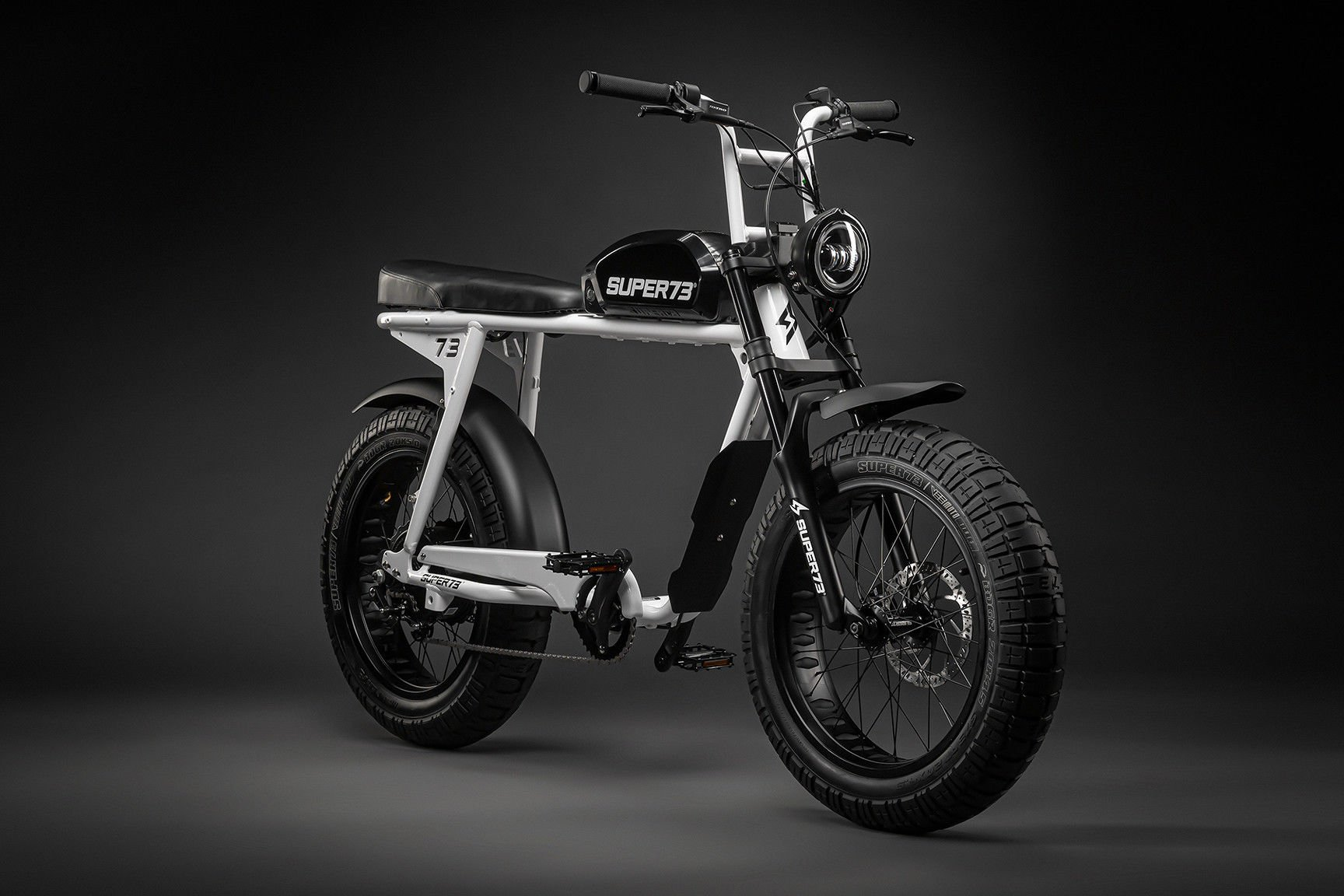 A SUPER73 S2 electric-assisted bicycle. Photo courtesy of SUPER73.