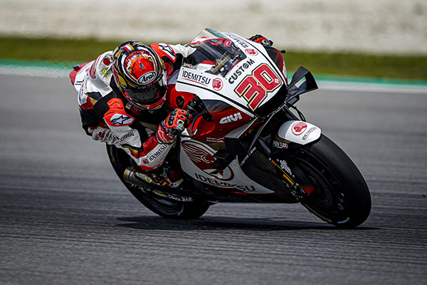 Takaaki Nakagami (30). Photo courtesy of LCR Honda Idemitsu.