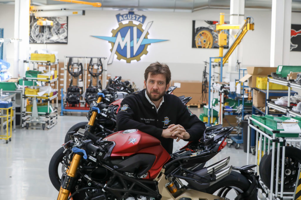 Timur Sardarov, Chairman and CEO of MV Agusta. Photo courtesy of MV Agusta.