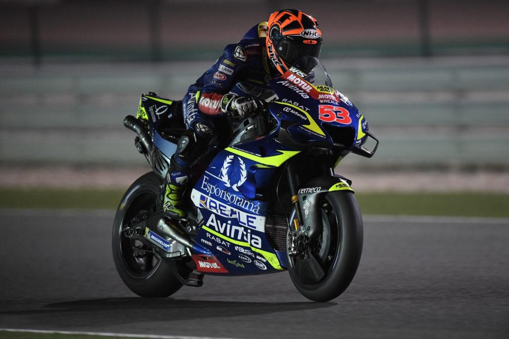 Tito Rabat (53). Photo courtesy of Reale Avintia Racing.