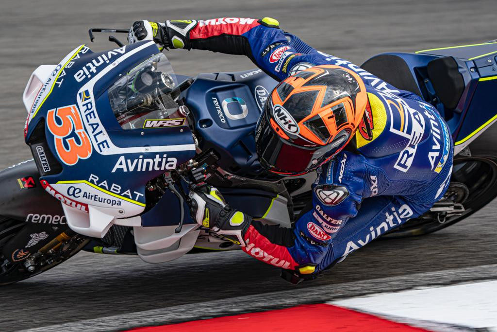 Tito Rabat (53). Photo courtesy of Avintia Racing.