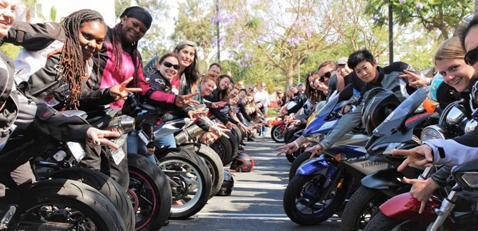 There will be four Women's Sportbike Rally events in 2020. Photo courtesy of Women's Sportbike Rally organizers.