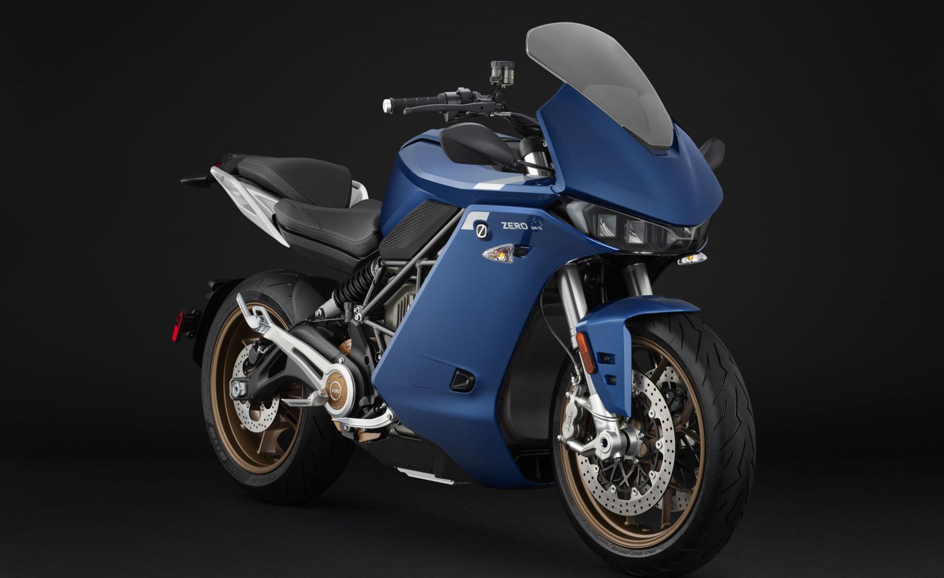 A Zero SR/S electric motorcycle. Photo courtesy of Zero Motorcycles.