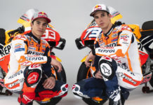 Marc Marquez (left) and Alex Marquez (right). Photo courtesy of Repsol Honda.