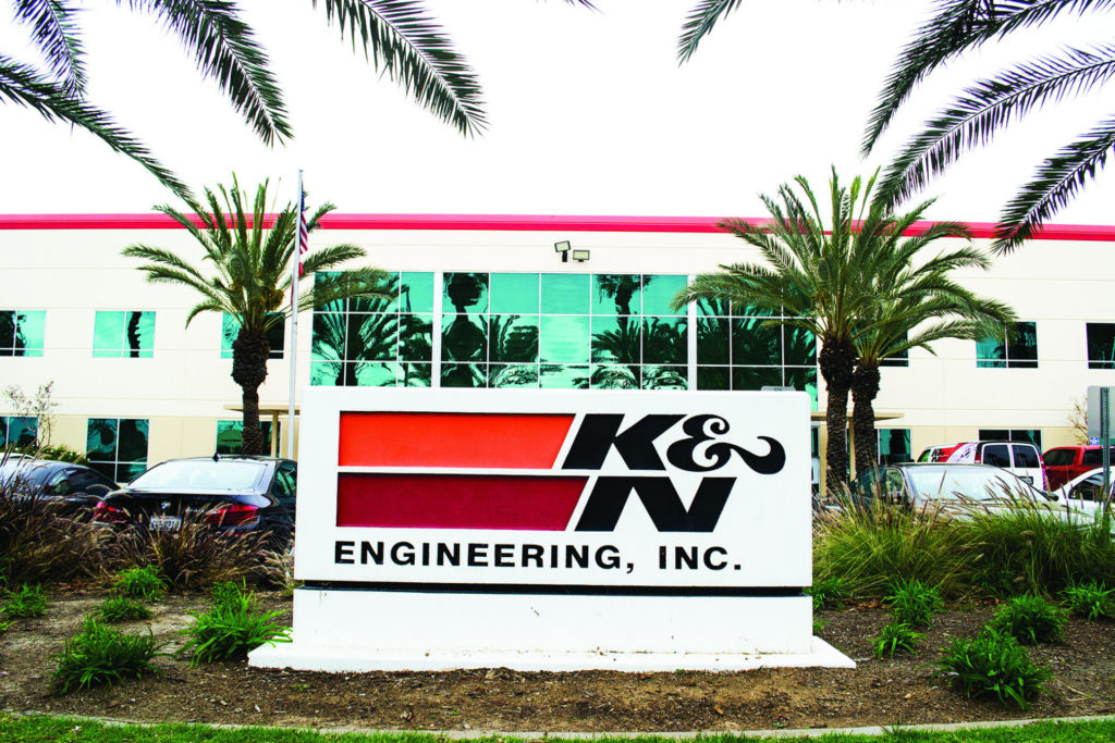 K&N Engineering, Inc. in Riverside, California. Photo by David Swarts.