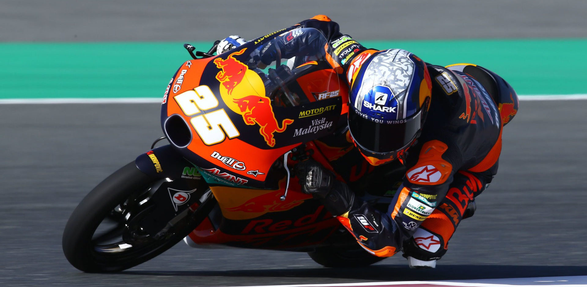 Raul Fernandez (25). Photo courtesy of Red Bull KTM Ajo.
