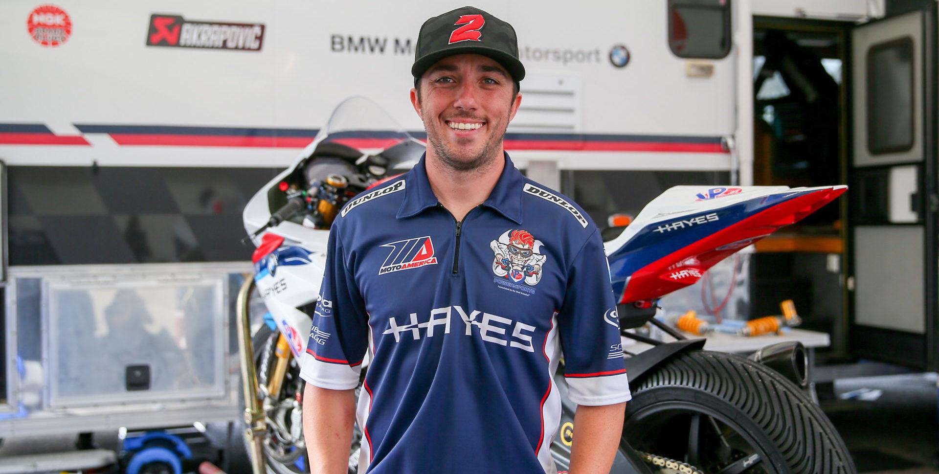 Josh Herrin. Photo by Brian J. Nelson, courtesy of Scheibe Racing.