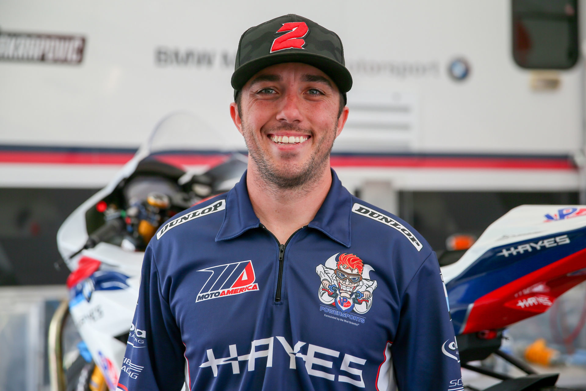 Josh Herrrin. Photo by Jen Muecke, courtesy of Scheibe Racing.