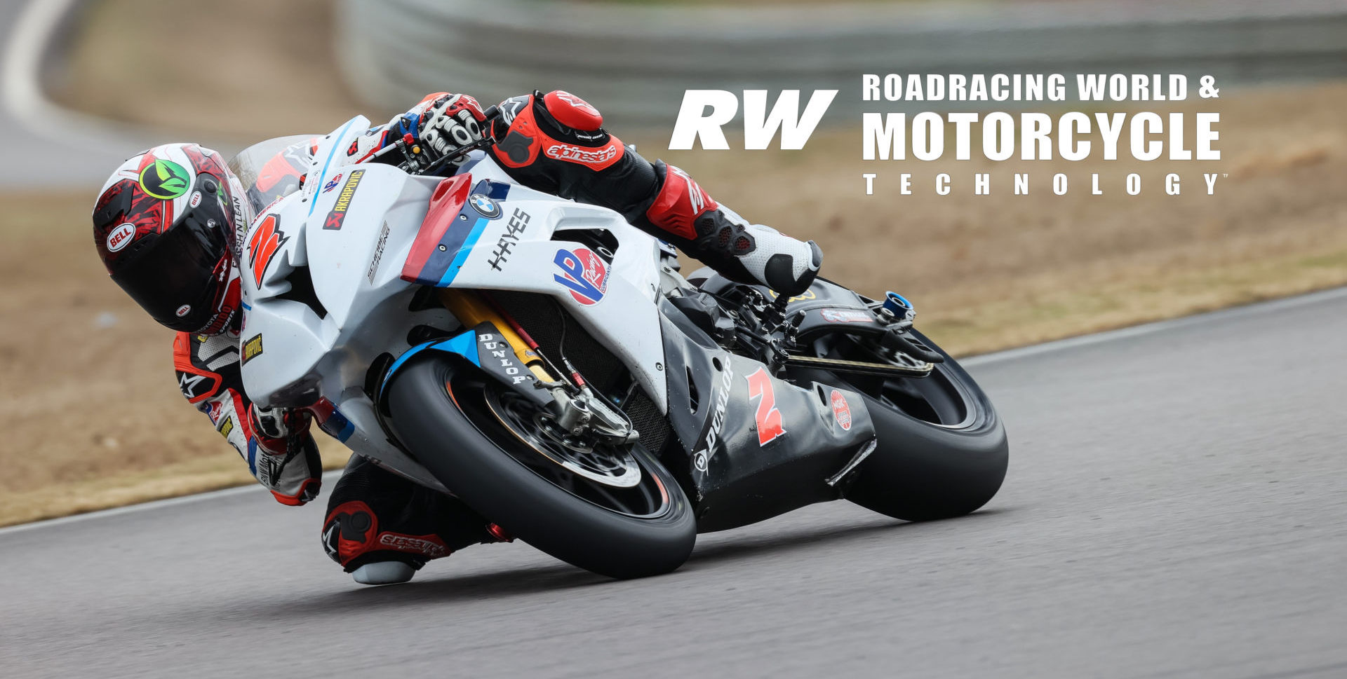 Josh Herrin (2) on the Scheibe Racing BMW Superbike during the official 2020 MotoAmerica pre-season test at Barber Motorsports Park. Photo by Brian J. Nelson.