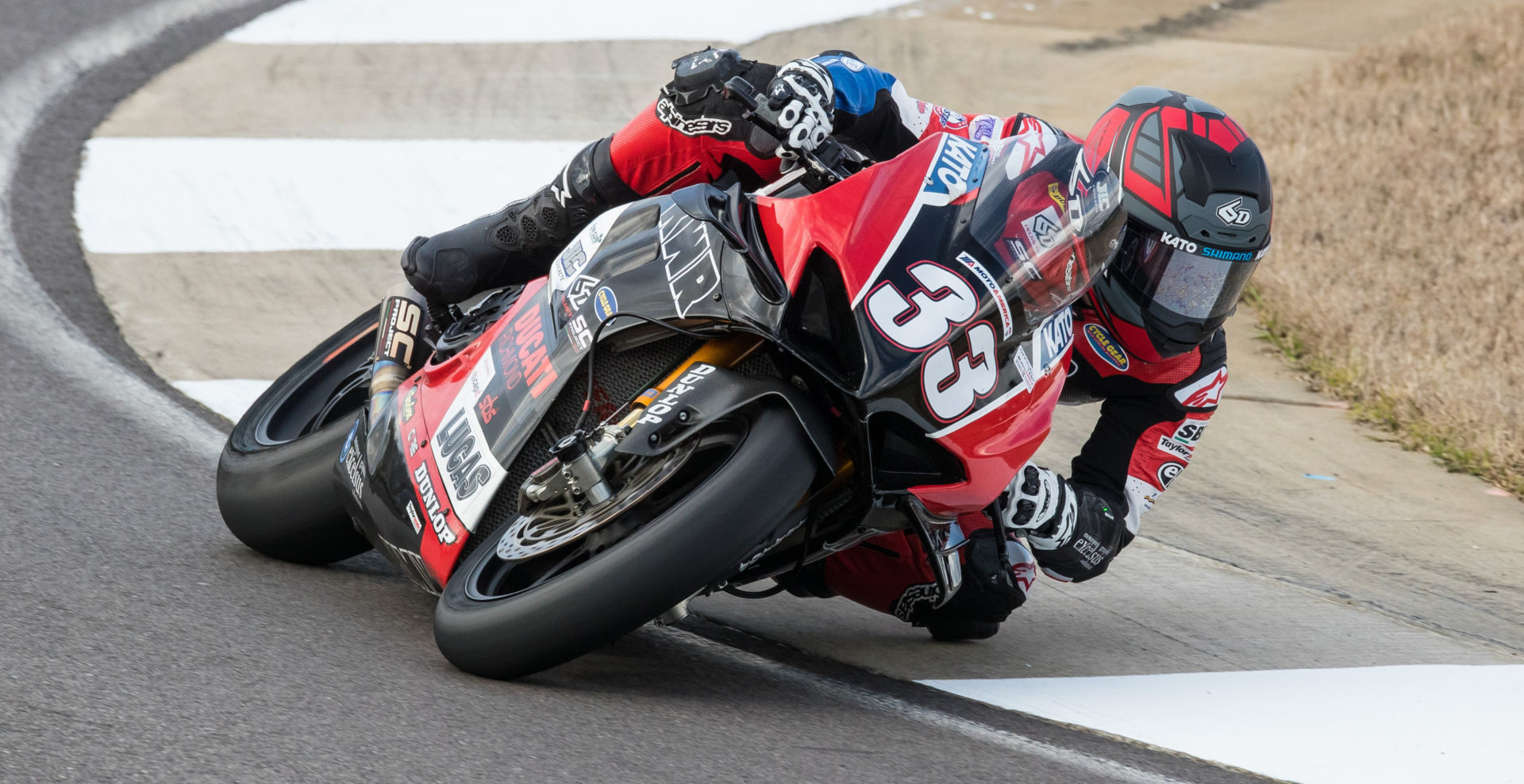 Kyle Wyman (33) at Barber Motorsports Park. Photo by Brian J. Nelson, courtesy of KWR.