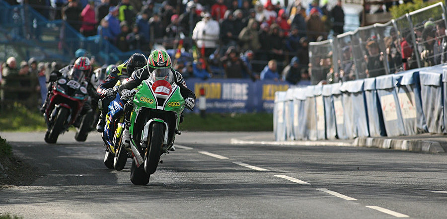 Action from a previous Cookstown 100. Photo courtesy of CDMCC.