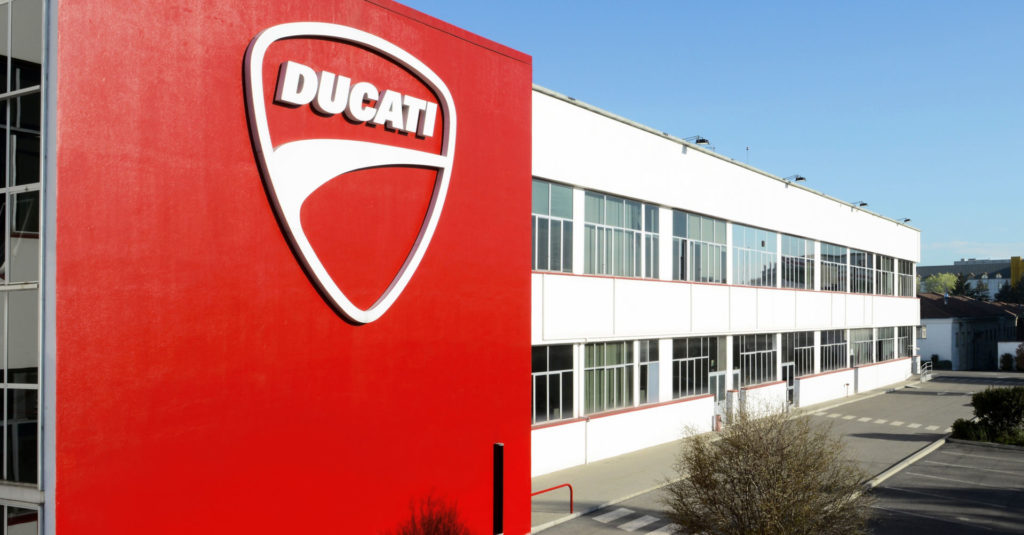 Ducati Motor Holding's headquarters and factory in Borgo Panigale, Italy. Photo courtesy of Ducati.