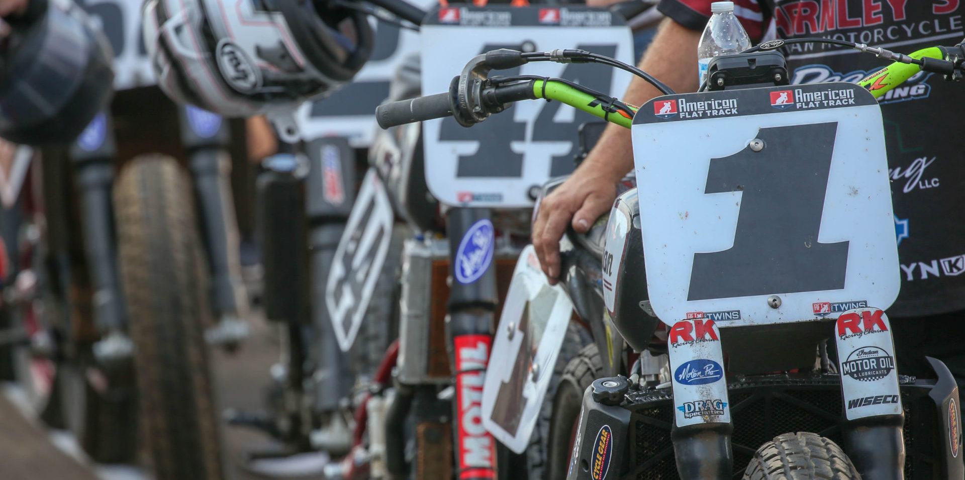 American Flat Track's 2020 contingency program has topped the $3 million mark. Photo by Scott Hunter, courtesy of AFT.