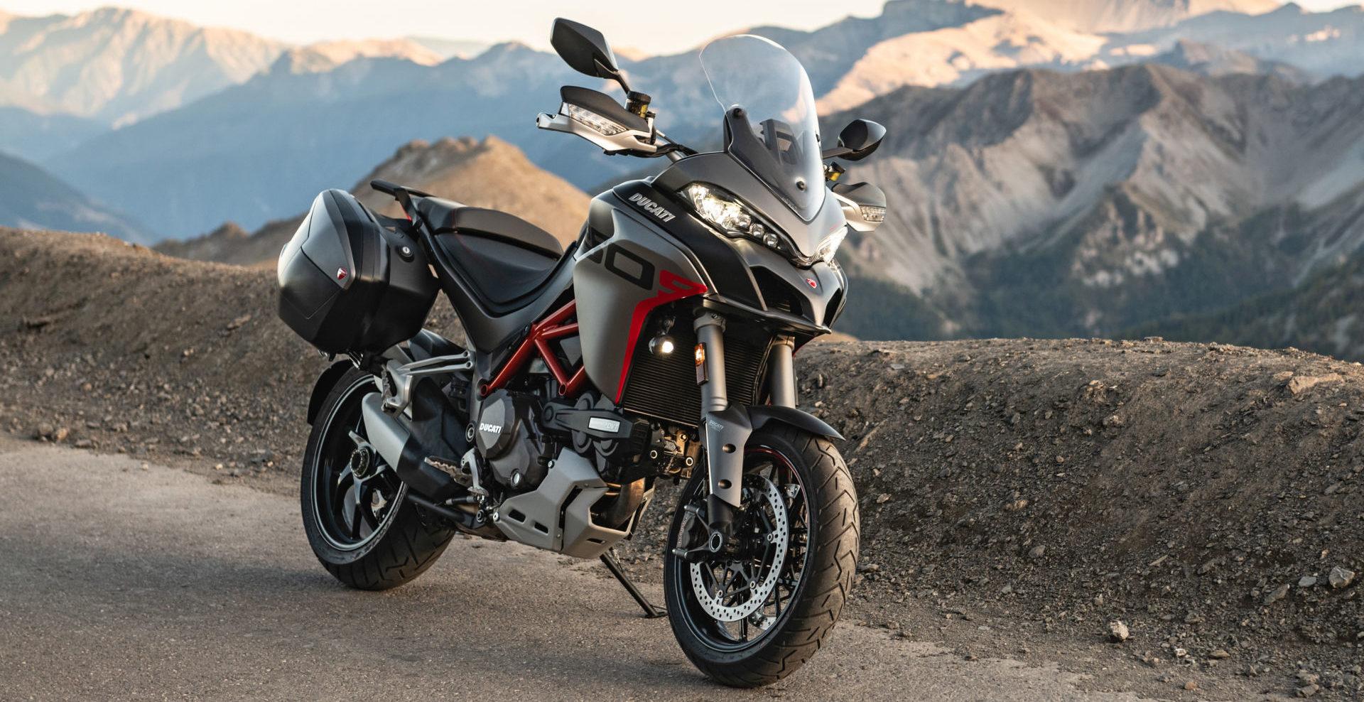 Ducati credits bikes like the Multistrada 1260 S Grand Tour for its success in 2019. Photo courtesy of Ducati.