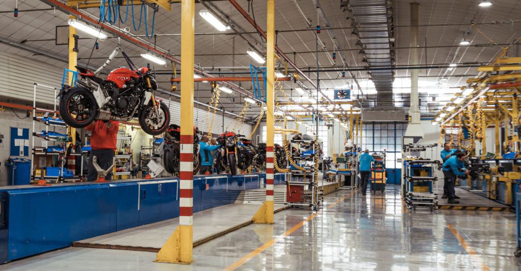 MV Agusta's factory in Varese, Italy. Photo courtesy of MV Agusta.