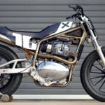 Johnny Lewis' Royal Enfield INT650-based AFT Production Twins racebike. Photo courtesy of Royal Enfield North America.