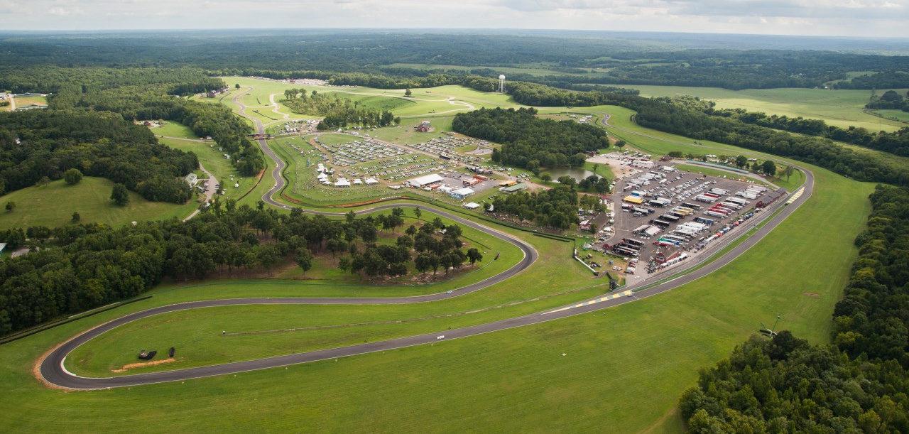 VIRginia International Raceway. Photo courtesy of VIR.