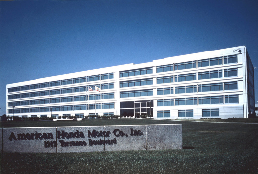 American Honda headquarters in Torrance, California. Photo courtesy of American Honda.