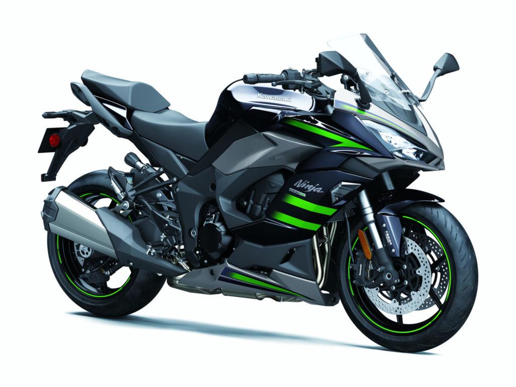 A 2020 Kawasaki Ninja 1000SX. Photo courtesy of Kawasaki.