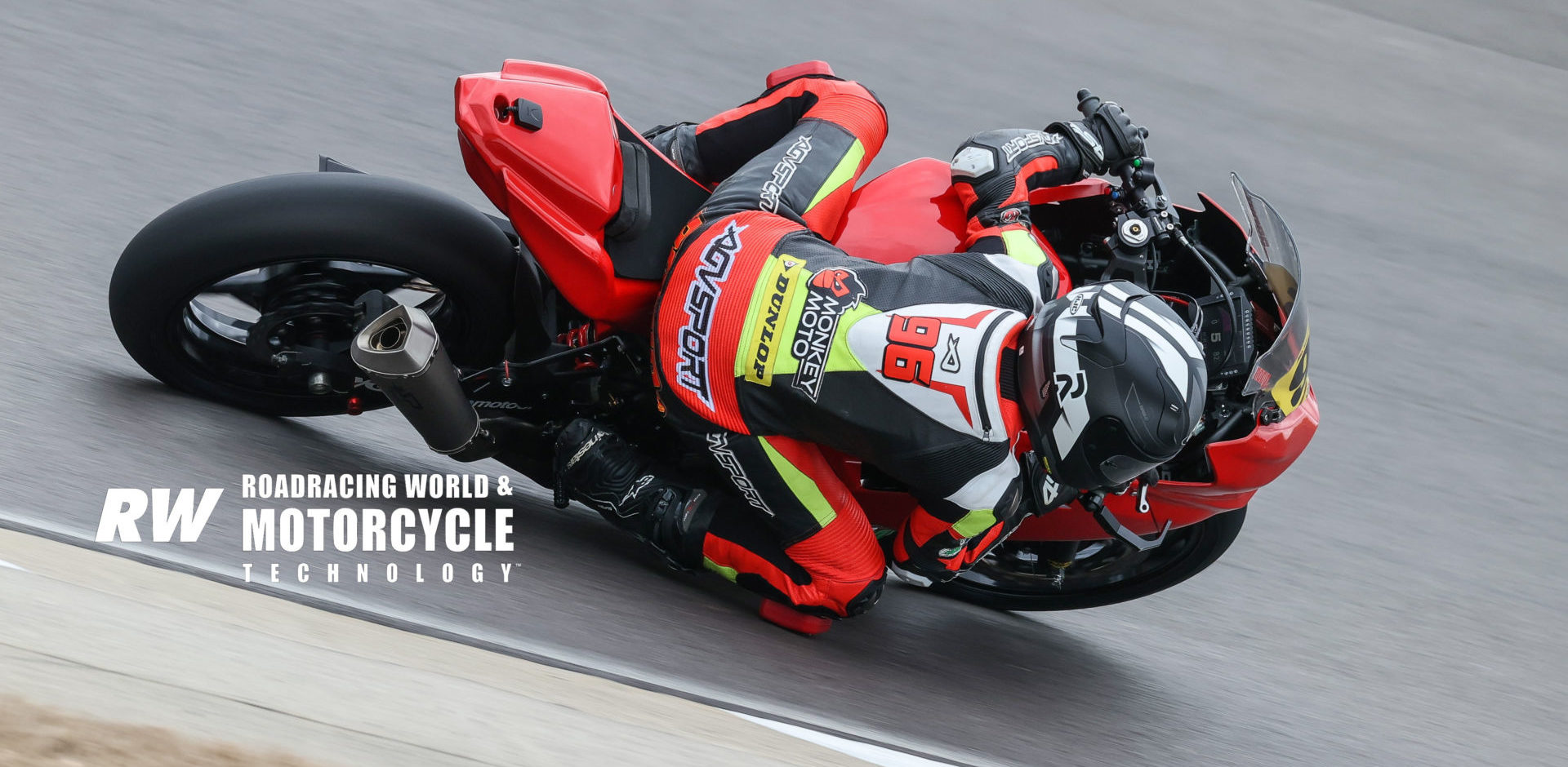 Gus Rodio in action at the 2020 MotoAmerica pre-season test at Barber Motorsports Park. Photo by Brian J. Nelson.