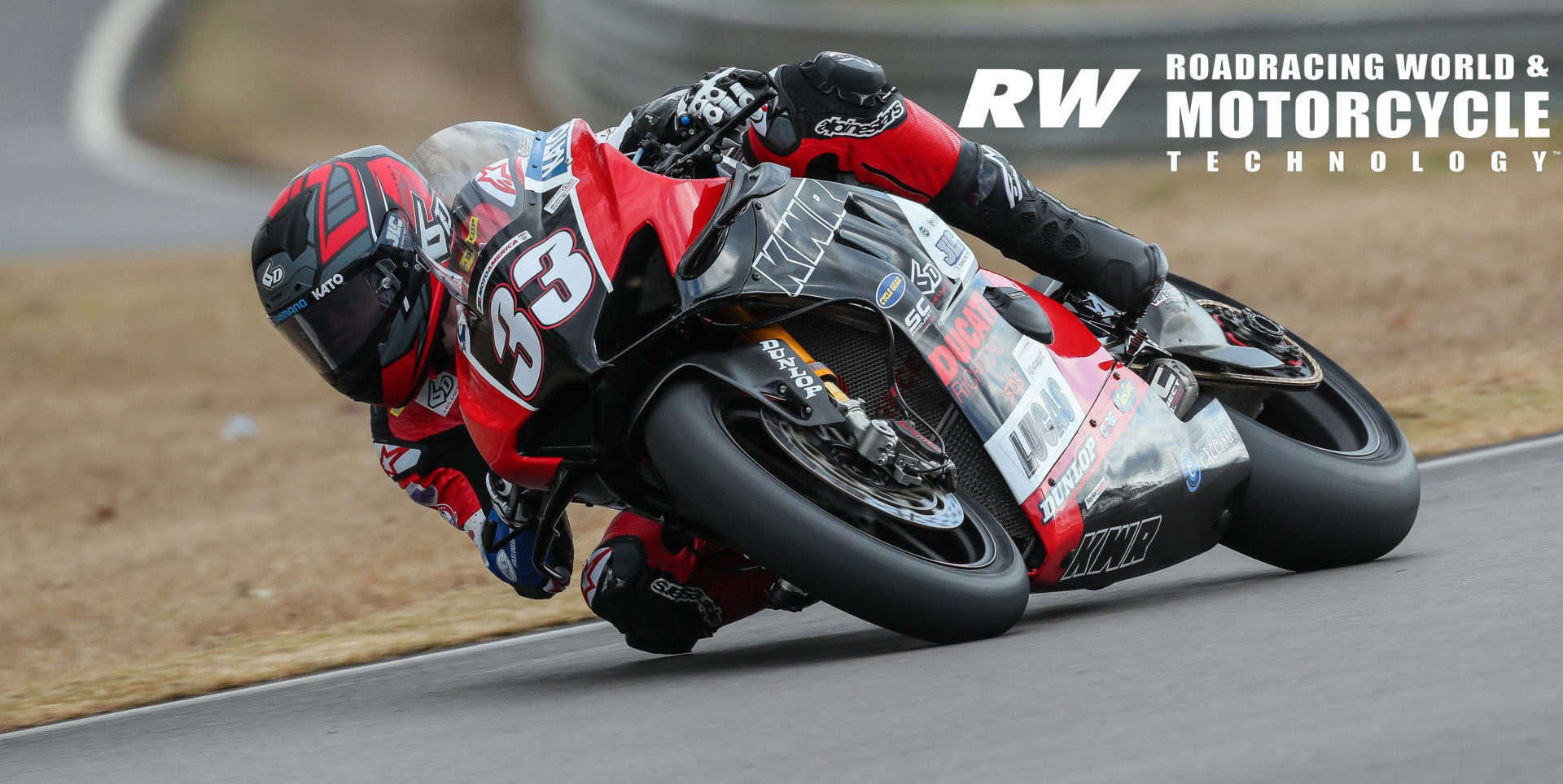 Kyle Wyman (33) at speed during the official MotoAmerica pre-season at Barber Motorsports Park. Photo by Brian J. Nelson.