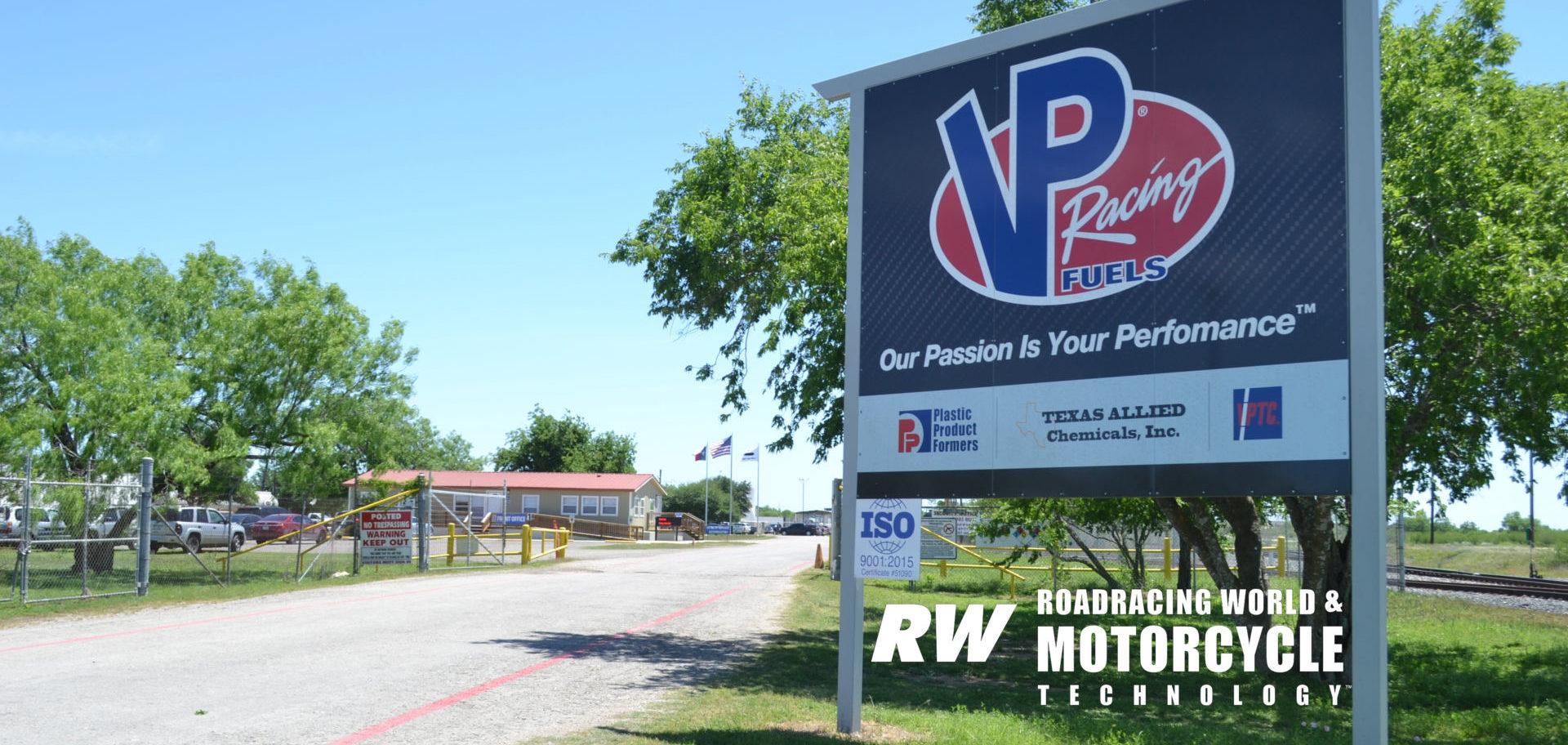 VP Racing Fuels' production facility near San Antonio, Texas. Photo by David Swarts.
