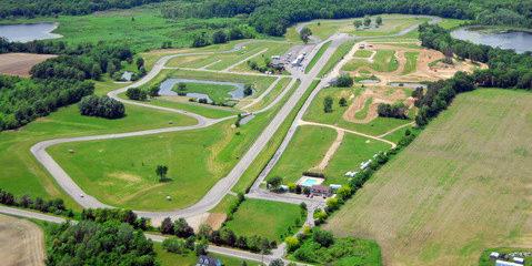 Grattan Raceway. Photo courtesy of Grattan Raceway.