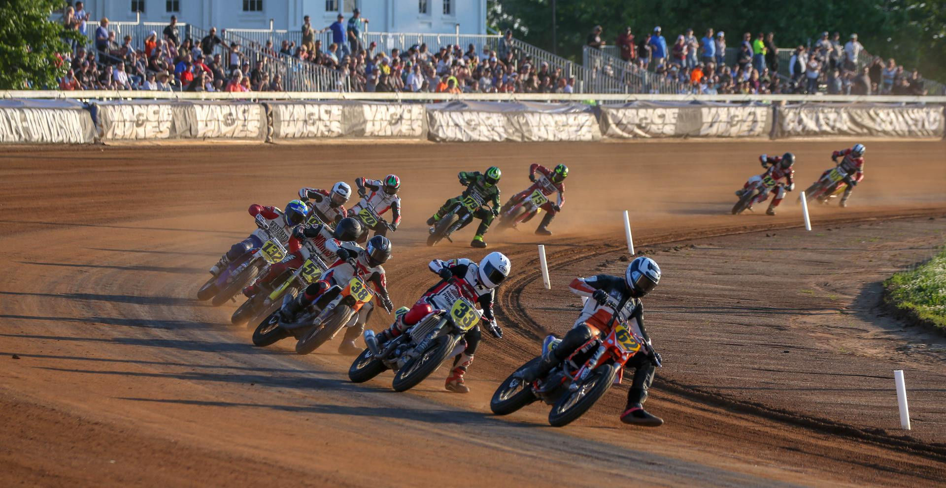 Action from an AFT Singles race at the Red Mile in Kentucky in 2018. Photo by Scott Hunter, courtesy of AFT.