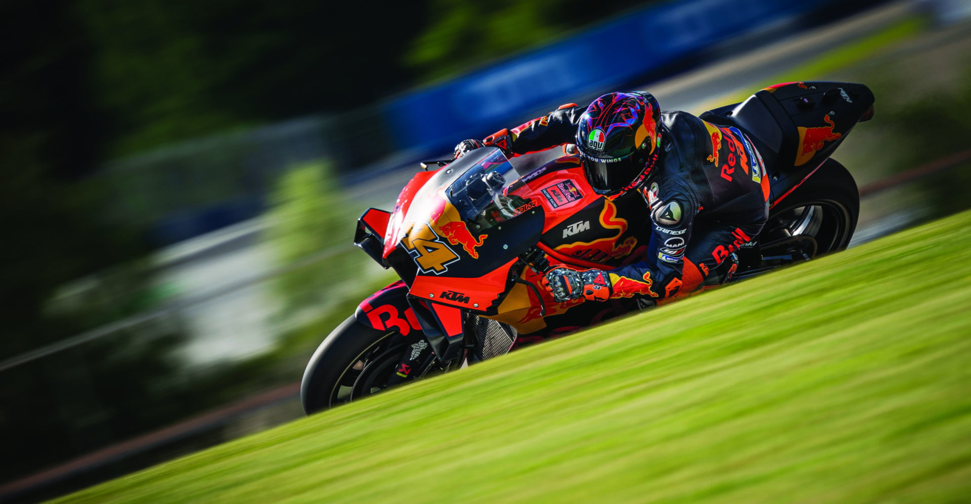 Pol Espargaro (44) in action at Red Bull Ring. Photo by Philip Platzer, courtesy Red Bull KTM.