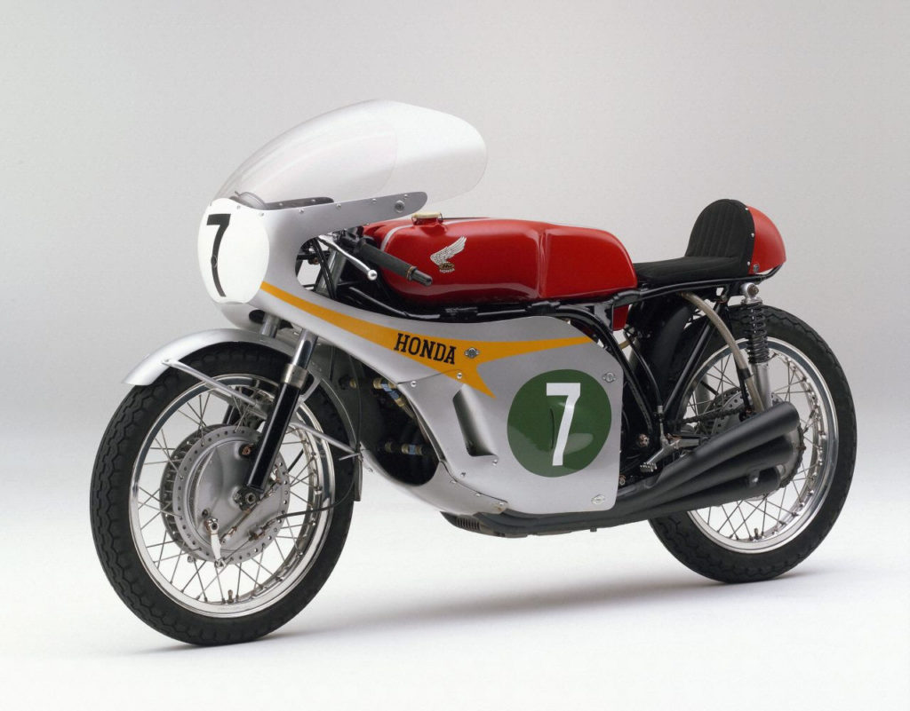 A Honda RC166, which is powered by a DOHC 250cc six-cylinder engine. Photo courtesy Honda Pro Racing.