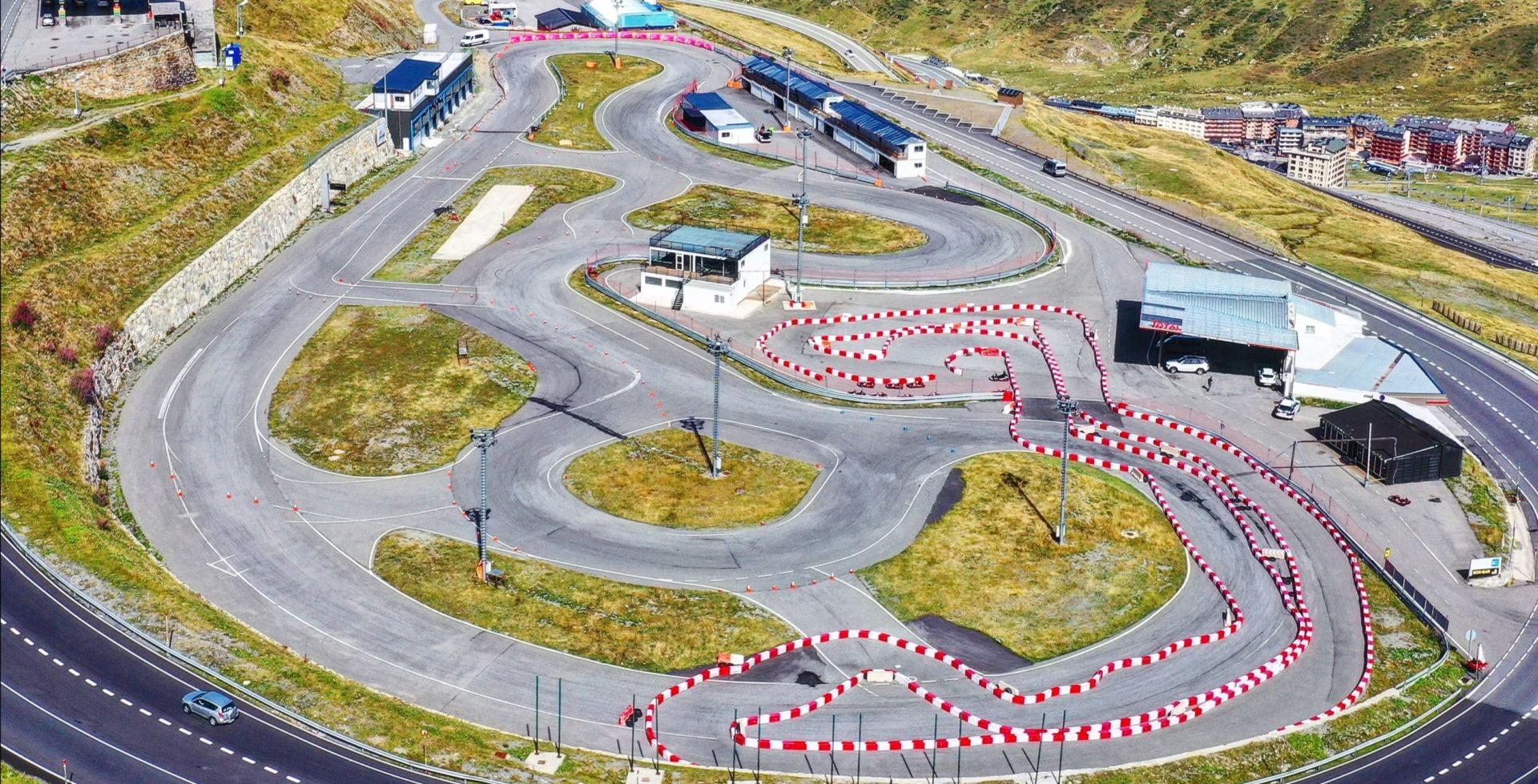 The Andorra Circuit. Photo courtesy Reale Avintia Racing.