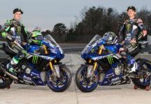 Monster Energy Attack Performance Yamaha's Cameron Beaubier (left) and Jake Gagne (right). Photo courtesy of Yamaha.