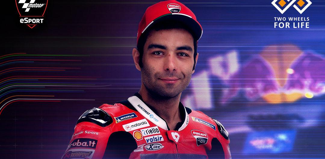 Danilo Petrucci. Image courtesy of Ducati.