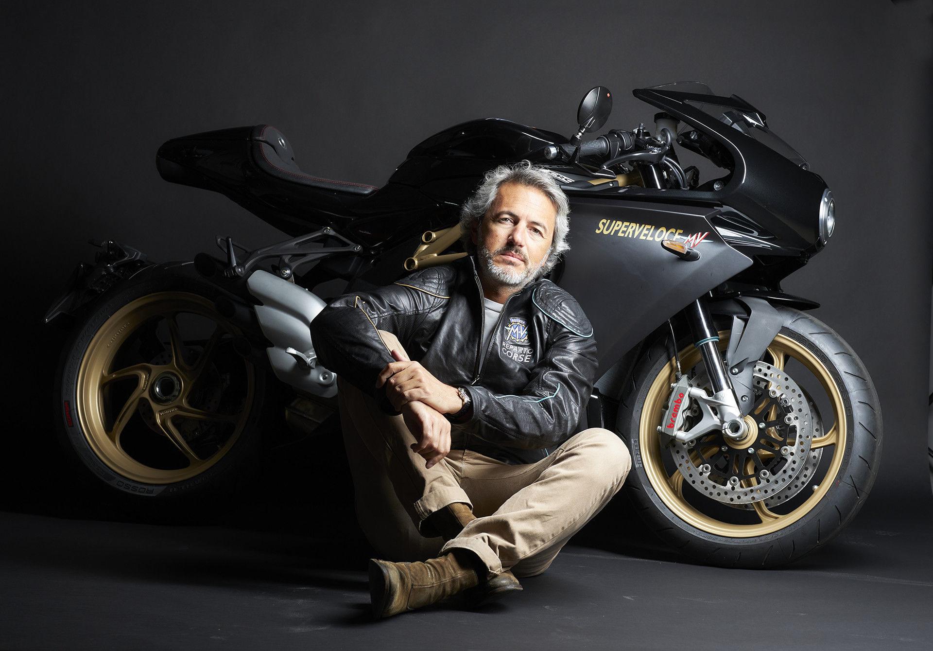 Filippo Bassoli. Photo courtesy MV Agusta.