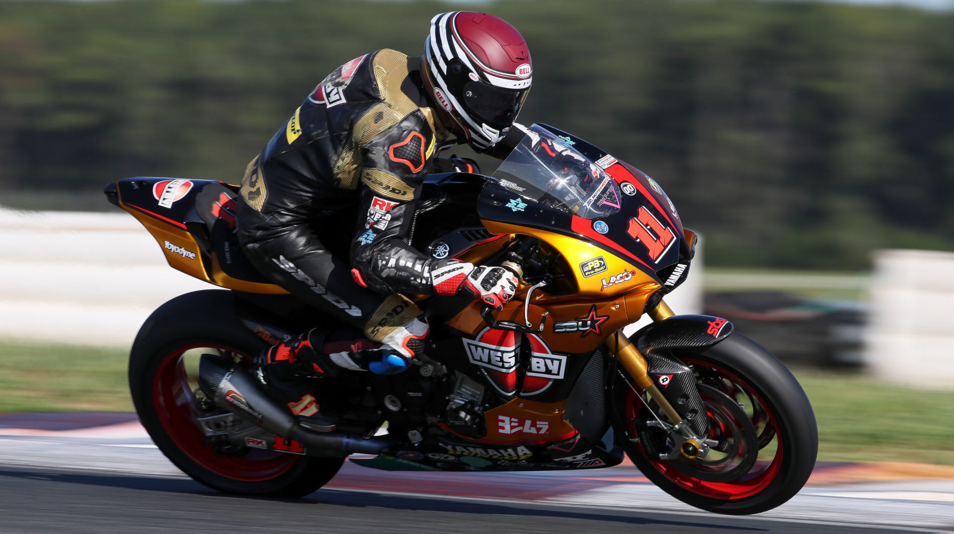 Westby Racing Superbike rider Mathew Scholtz (11). Photo courtesy Westby Racing.