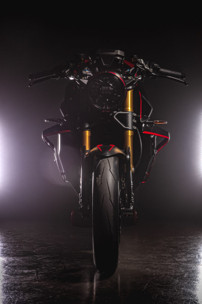 An MV Agusta Rush 1000. Photo courtesy MV Agusta.