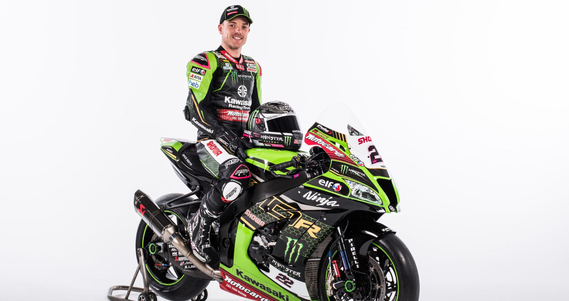Alex Lowes. Photo courtesy Kawasaki.