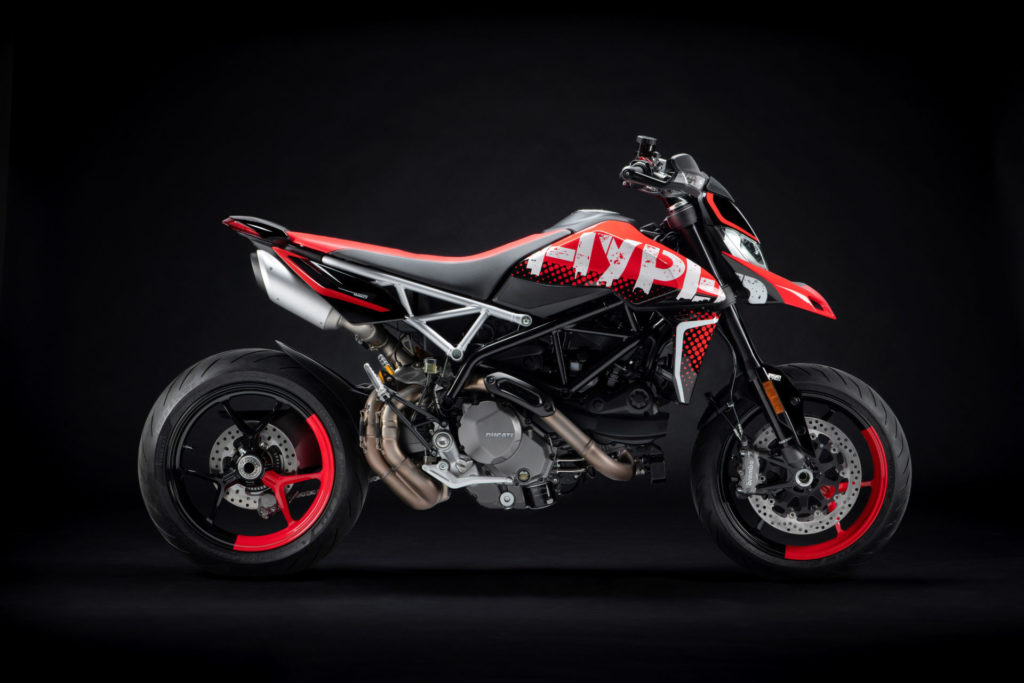 A Ducati Hypermotard 950 RVE. Photo courtesy Ducati.
