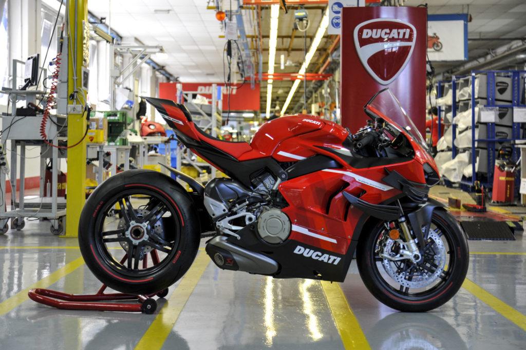 Ducati Superleggera V4 #001 of 500. Photo courtesy Ducati.