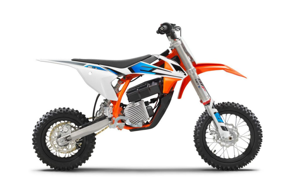 A 2020 KTM SX-E5. Photo courtesy KTM.