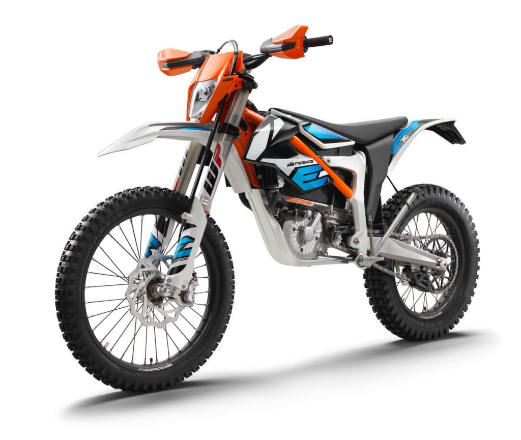 A 2021 KTM FREERIDE E-XC. Photo courtesy KTM.