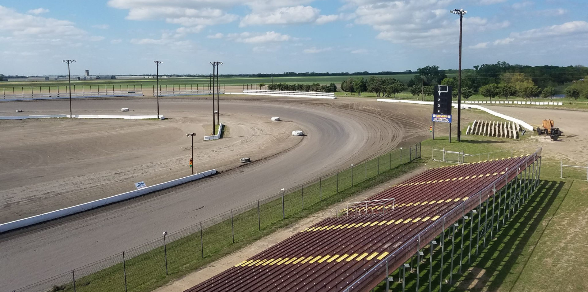 Devil's Bowl Speedway in Mesquite, Texas. Photo courtesy Devil's Bowl Speedway.