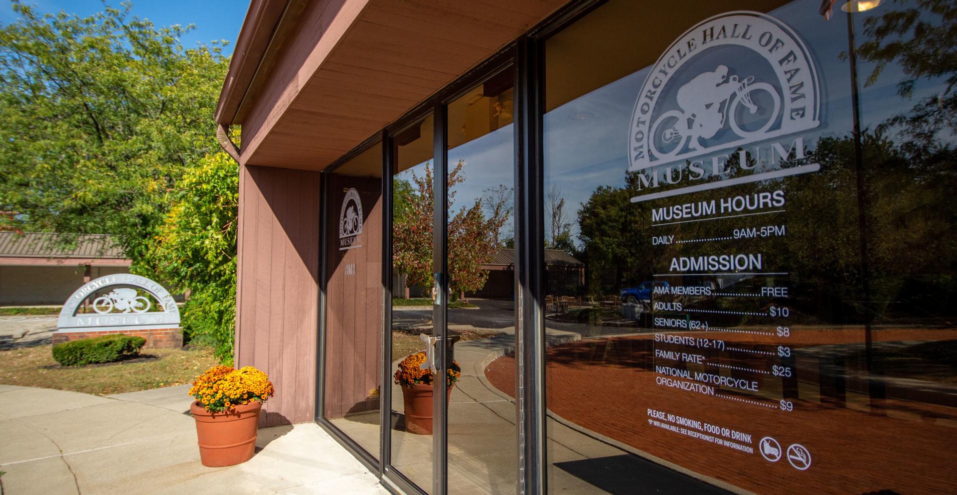 The AMA Motorcycle Hall of Fame Museum in Pickerington, Ohio. Photo courtesy AMA.