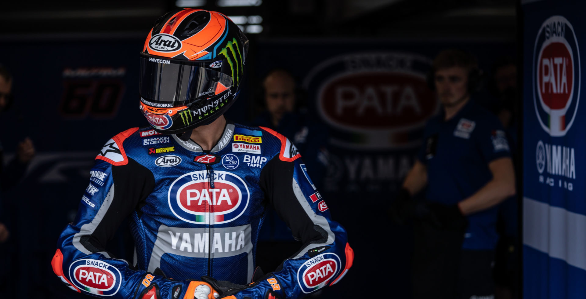 Michael van der Mark. Photo courtesy Yamaha Motor Europe.